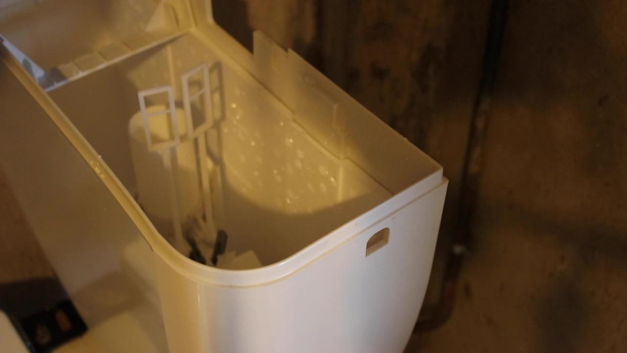 réservoir de WC